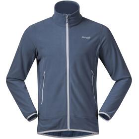 Bergans Lovund Fleece Jacket Men Fogblue/Aluminium